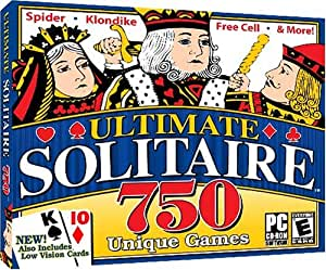 Ultimate Solitaire 750 (Jewel Case) - PC