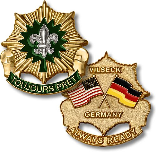 2nd Cavalry Regiment -- Vilseck, Germany Challenge Coin