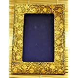 "The India Craft House Kashmiri Art - Papier Mache Photo Frame (8""*6"") KAWPHO8G"