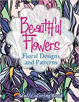 Adult Coloring Books Beautiful Patterns Designs