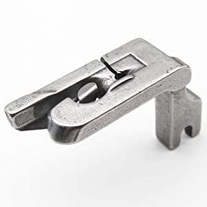 CKPSMS Brand - 1PCS Scroll Type Hemmer Foot/Rolled Double Fold Hem Presser Foot for Sewing Machine (120808 3/8) (Color: 120808 3/8)