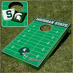 Michigan State Spartans Football Bean Bag Toss Game