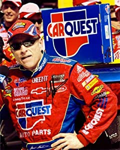 2009 Mark Martin #5 CarQuest Racing 8X10 SIGNED by Trackside Autographs