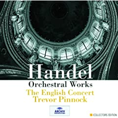 Handel: Water Music, Suites II & III In D/G (HWV 349/350) - 8. (Andante)