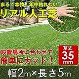 リアルすぎる人工芝 ロールタイプ 幅2m×長さ5m 武田コーポレーション