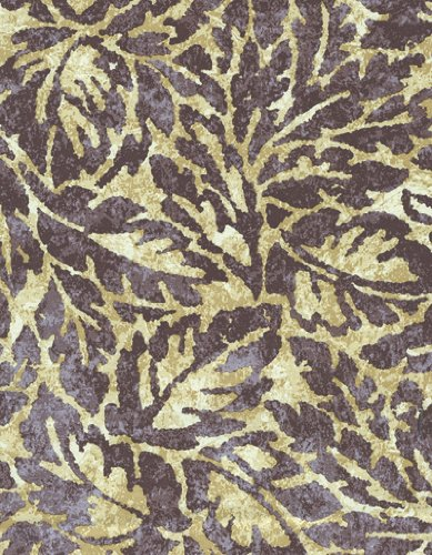 Flowing Foliage Damask Series 6115 Orchid Vinyl Tablecloth 54