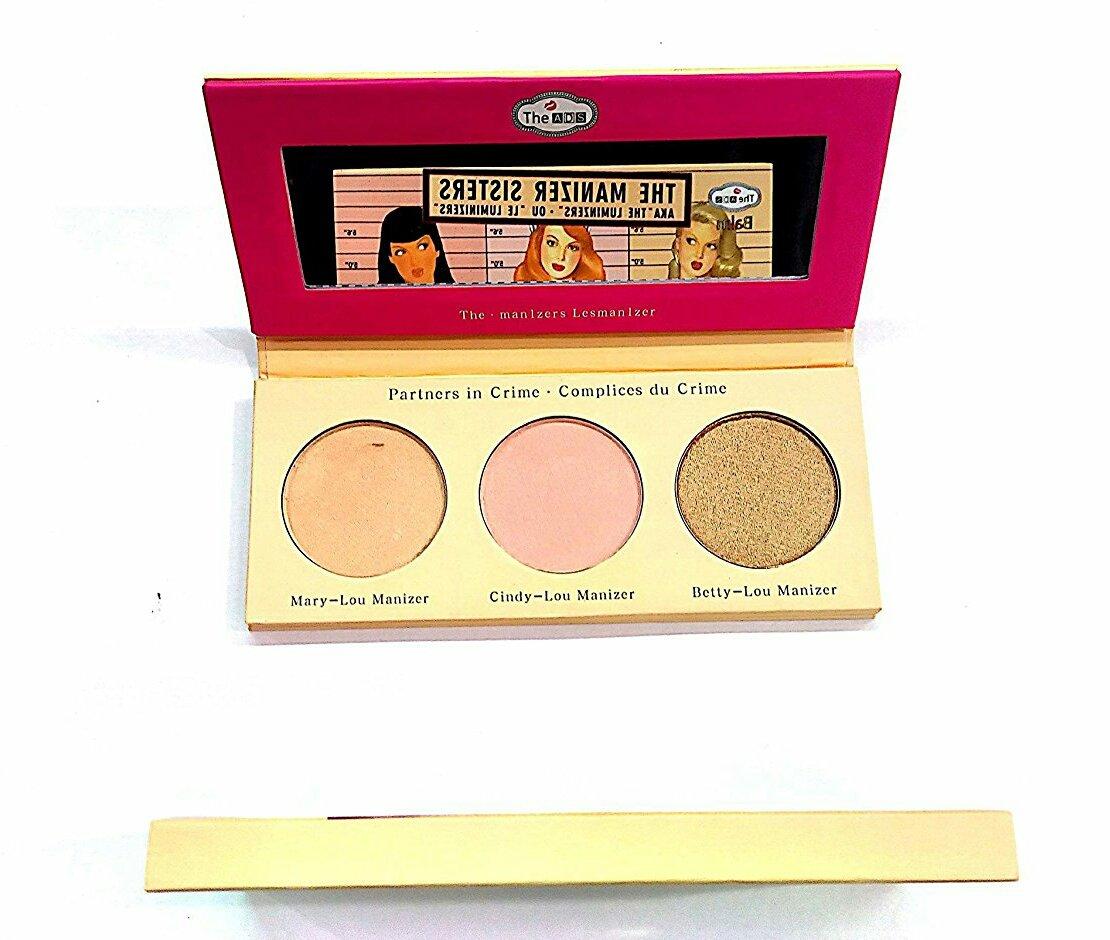 Ads Manizer Sisters Luminizers Blusher Palette (3 Shades)