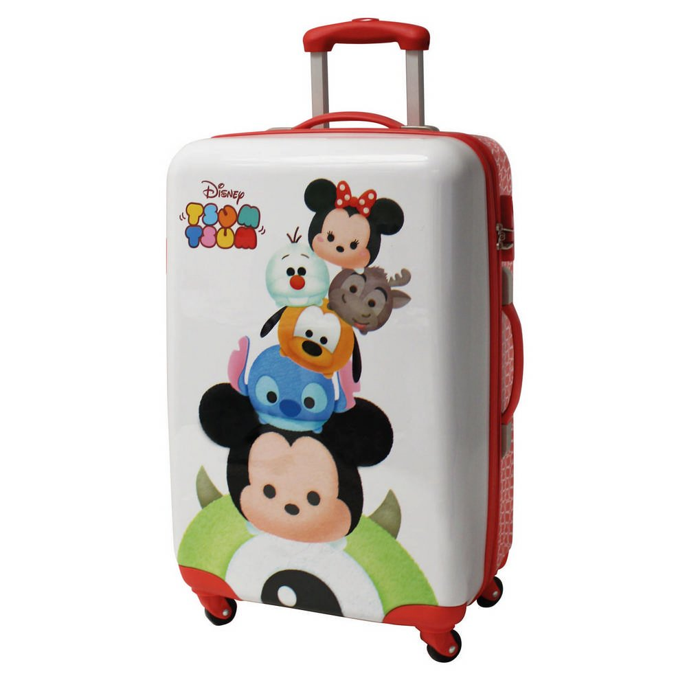 Tsum Tsum ABS Koffer Kindergepäck, 53 Liter, Weiß