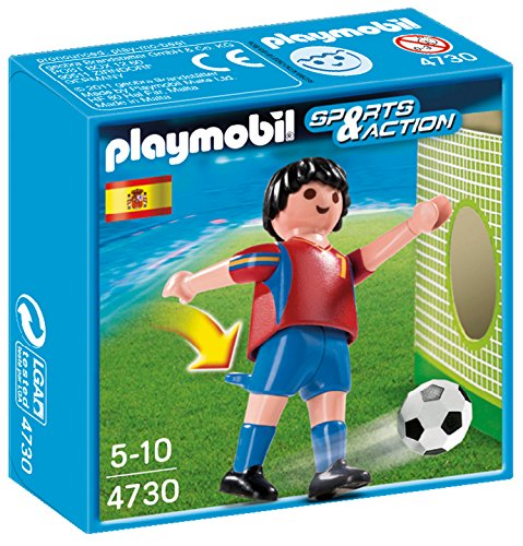 PLAYMOBIL Spain Soccer Player Toy - 1