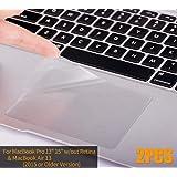 CaseBuy MacBook Air 13 Skin, Clear Matte Anti-Scratch Trackpad Protector Cover Skin MacBook Air 13.3