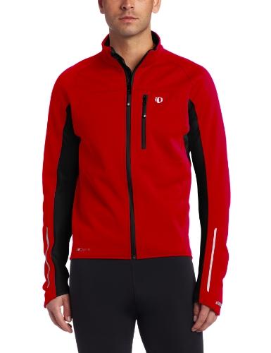 PEARL iZUMi Elite Softshell Jacket true red black (Size: M)