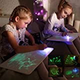 Doodstage Light Drawing - Fun and Developing Toy Draw with Light Developing Board for Kids (M:11.8 x 8.3 in) (Tamaño: M: A4/30*21*2cm)