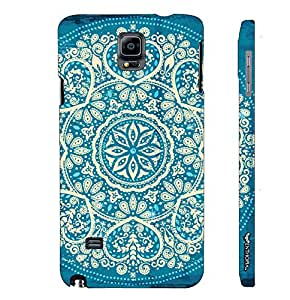 Samsung Galaxy Note 4 Motif Pattern designer mobile hard shell case by Enthopia