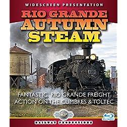 American Trains-Rio Grande Autumn Steam [Blu-ray]