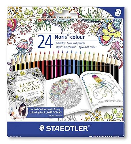 Staedtler 185 C24JB Matita Colorata, Confezione da 24 Pezzi