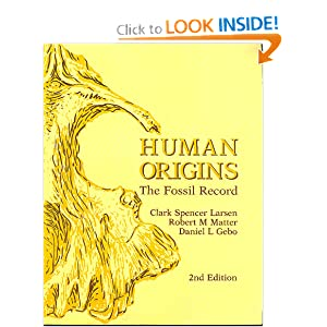 Amazon.com: Human Origins: The Fossil Record (9780881335750 ...