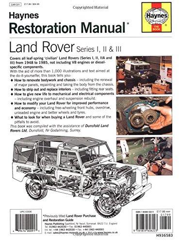 land rover restoration manual pdf