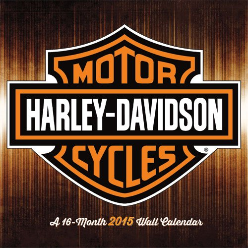 2015 Harley Davidson Wall Calendar Trends International LLC