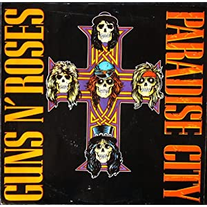 Paradise City; picture sleeve only