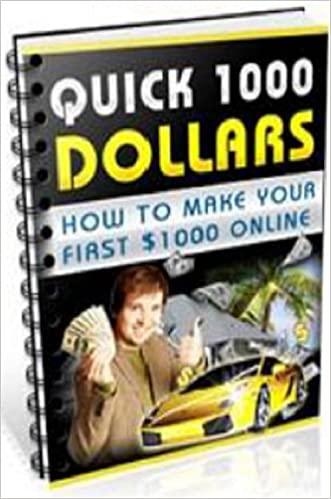 How To Make Your First $1000 Online