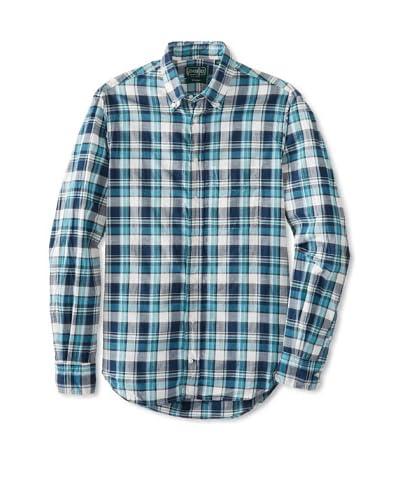 Gitman Vintage Men's Madras Plaid Button Down Shirt