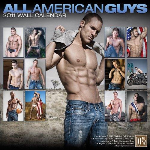 All American Guys 2011 Calendar (Village Lighthouse Inc)