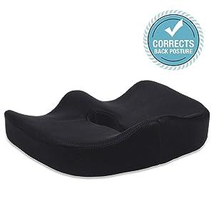 LiBa Memory Foam Seat Cushion width=