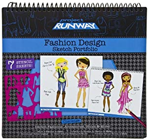 Project runway fashion illustration portfolio set