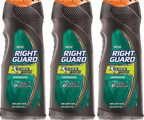 3-pack-right-guard-hair-body-wash-xtreme-fresh-energizing-net-wt-16-fl-oz-473-ml-each