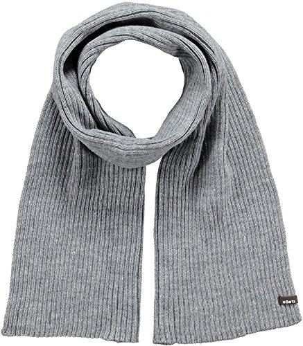 Barts - Wilbert Scarf, Set sciarpa, cappello e guanti Uomo, Grigio (Grau), Taglia unica (Taglia Produttore: One Size)