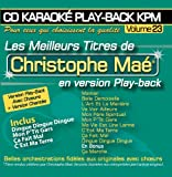 CD Karaok Play-Back KPM Vol.23 Christophe Ma