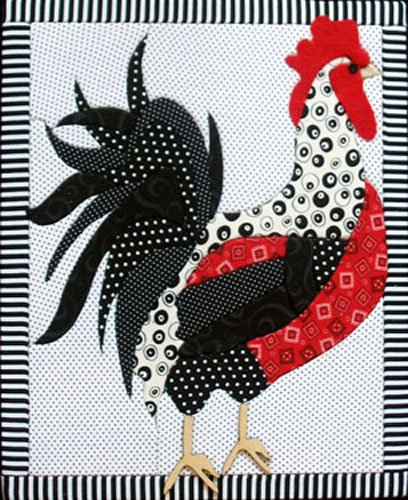 Artsi2 A2ROOST Rooster Wall Hanging Kit