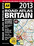 AA Publishing AA Road Atlas Britain 2013