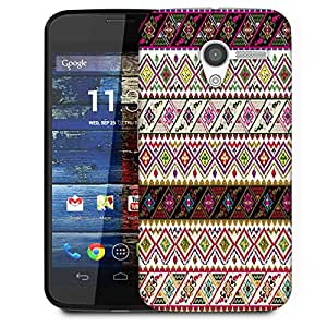 Snoogg Abstract Pattern Design Designer Protective Phone Back Case Cover For Moto X / Motorola X