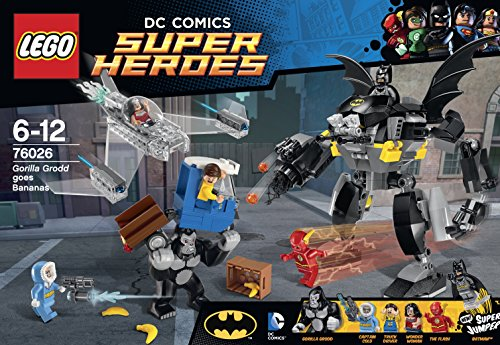 LEGO Superheroes Gorilla Grodd Goes Bananas at Gotham City Store