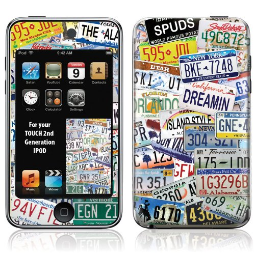 OttoSkins Protective Skin for iPod Touch 2nd Generation - Summer Vacation