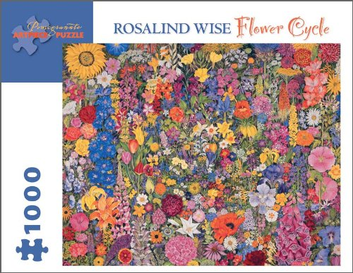 61sQZtp5UVL Buy  Flower Cycle 1,000 piece Jigsaw Puzzle by Rosalind Wise