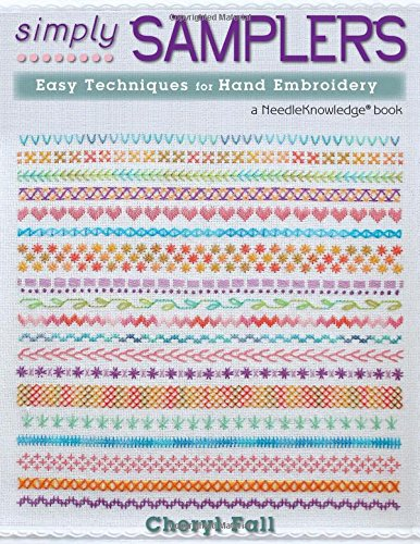 Buy Cheap Simply Samplers: Easy Techniques for Hand Embroidery (Needleknowledge)