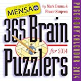 Mensa 365 Brain Puzzlers 2014 Page-A-Day Calendar