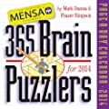 Mensa 365 Brain Puzzlers Page-A-Day Calendar