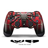 Skins for PS4 Controller - Stickers for Playstation 4 Games - Decals Cover for PS4 Slim Sony Play Station Four Controllers PS4 Pro Accessories PS4 Remote Wireless Dualshock 4 Skin - Window Spider (Color: Window Spider)