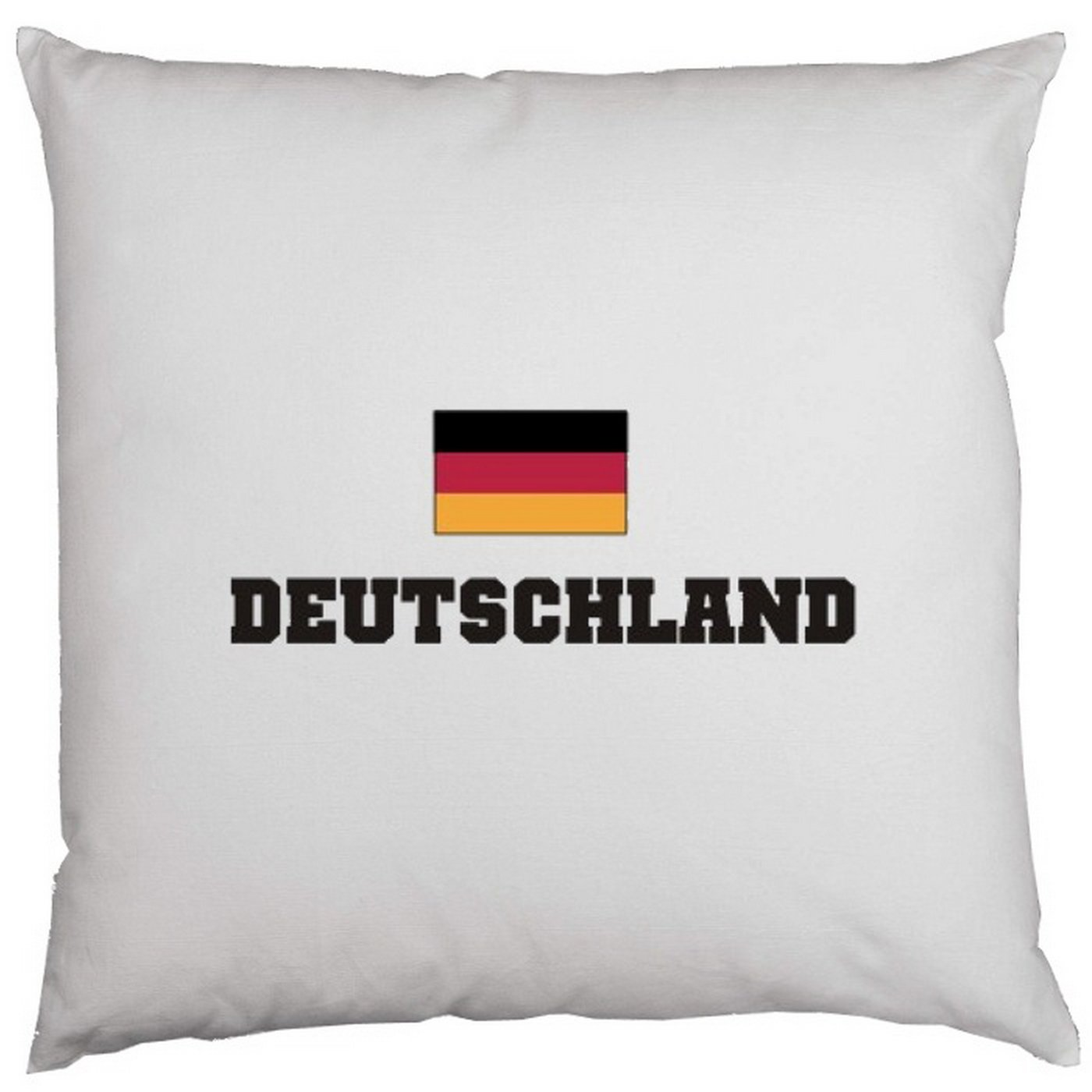 Kissen mit Innenkissen – Deutschland – mit 40 x 40 cm – in weiß : ) günstig
