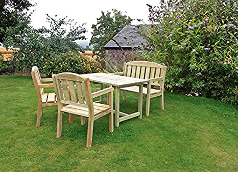 Caroline Table, Bench and Chair Set