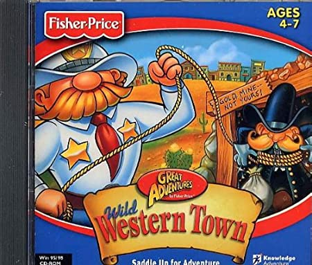 Great Adventures - Wild Western Town