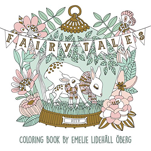 Fairy Tales Coloring Book: Published in Sweden As Sagolikt (Gsp ...