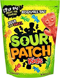 Sour Patch Kids, 1.9 Pound Bags (Pack of 2)