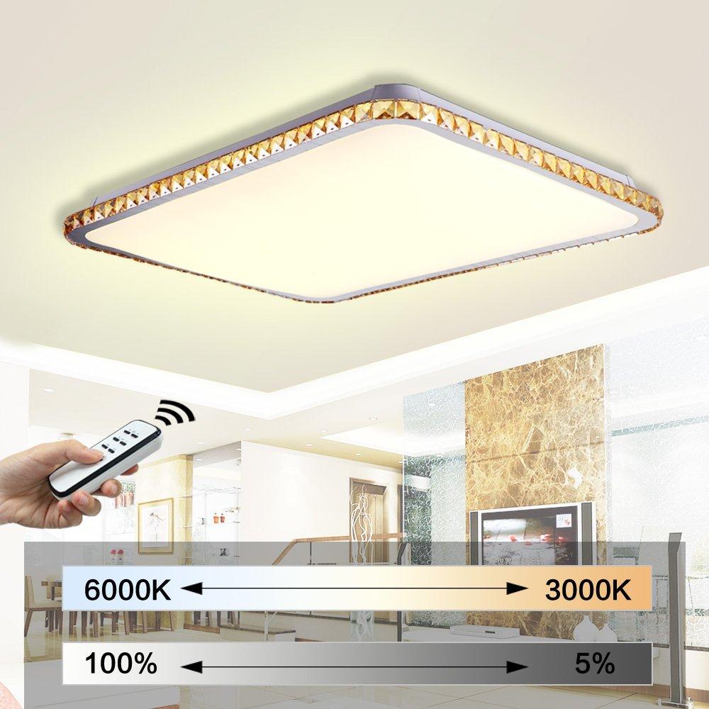 natsen modern kristall led deckenlampe wandlampe jx829 50w deckenbeleuchtung deckenleuchten. Black Bedroom Furniture Sets. Home Design Ideas