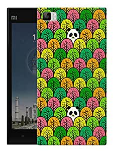"""Panda In Jungle - Green Printed Designer Mobile Back Cover For """"Xiaomi Redmi MI3"""" By Humor Gang (3D, Matte Finish, Premium Quality, Protective Snap On Slim Hard Phone Case, Multi Color)"""