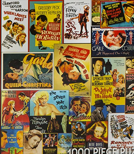 white mountain puzzles classic movie posters 1000