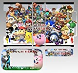Skin Sticker Cover Decal Protector for Wii U Console and Controller skins Super Smash Bros Brawl 221